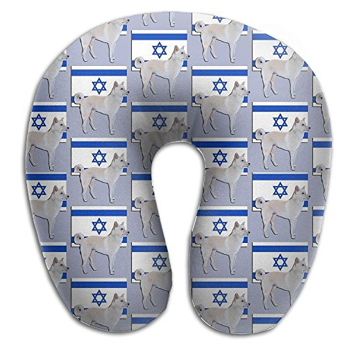 Canaan Dog, National Dog Of Israel Travel & Neck Pillow Comfortable U Shaped - Usps Israel Shipping To