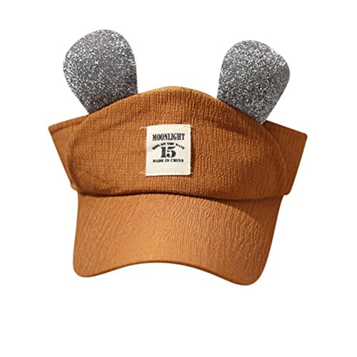 General3 Baby Hat, Cute Kids Children Solid Ear Empty Hat Bongrace Hat Peak Baseball Cap Sunhat
