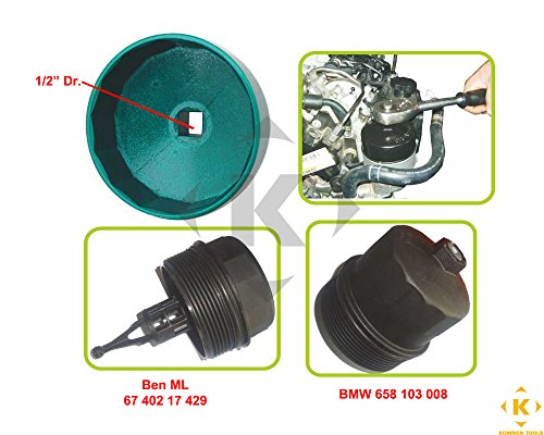 Mercedes Benz 84mm Oil Filter (Mercedes Ml320 Diesel)