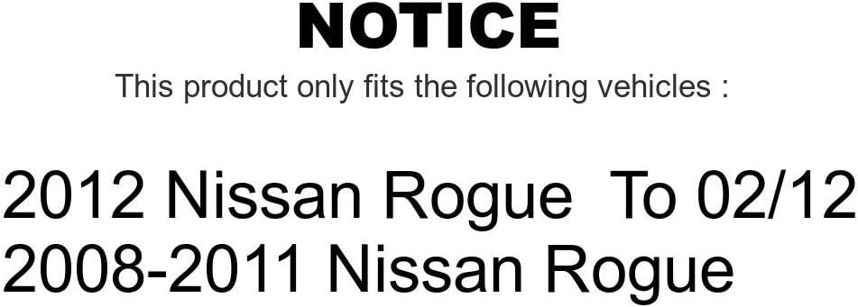 Front Suspension Shock Absorber And Strut Mount Kit For Nissan Rogue