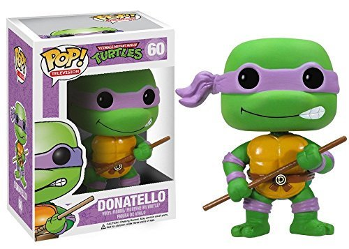 Funko POP Television TMNT Donatello 3 3/4 Inch Action Figure Dolls Toys