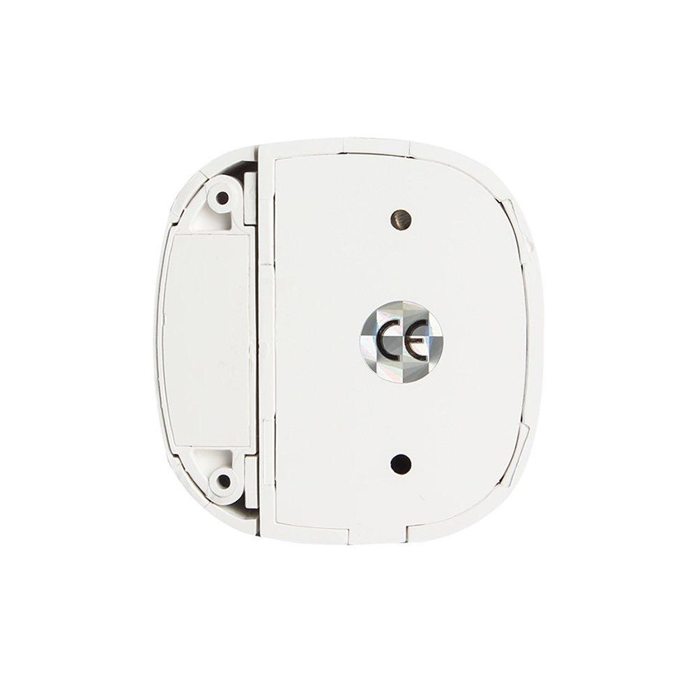 Wolf-Guard Wireless 433MHz Ventana de puerta Sensor para sistema de seguridad de alarma para el hogar Blanco