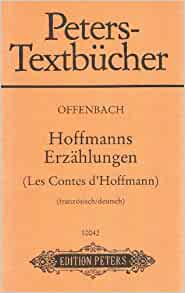 Les contes dhoffmann jacques offenbach 9783369000720 for Ui offenbach