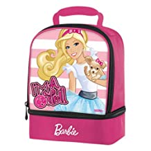 Barbie Thermos Insulated Double Compartment Lunch Bag [I'm a Doll]