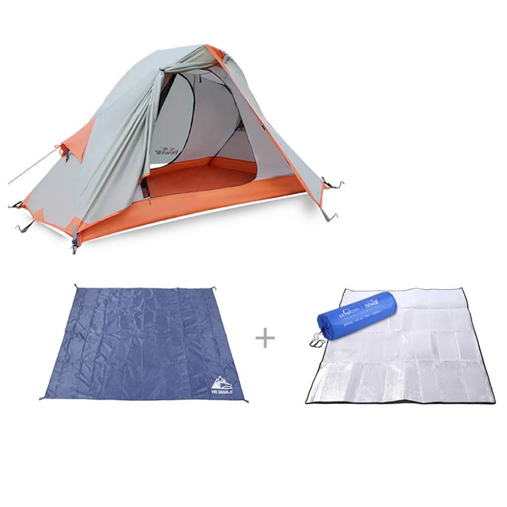 Kuppelzelte Campingzelt, wasserdichtes One-Personenzelt Outdoor-UV-Schutz für Campingwandern (Farbe   A) B07PGY8WK7 Kuppelzelte Verrückter Preis