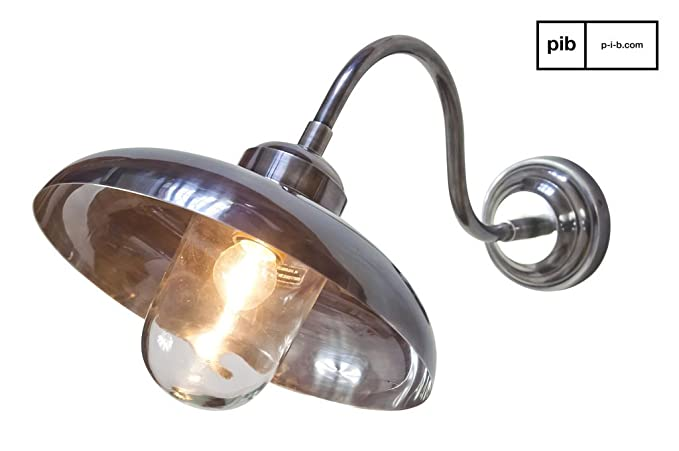 Pib lampade da parete lampada da muro a collo di cigno in stile
