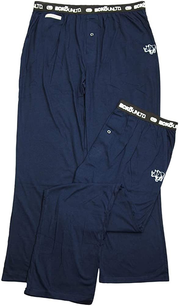 Ecko Unltd. - Mens Knit Pant with Media Pocket 41237-X-Large Navy