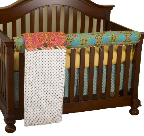 Cotton Tale Designs Front Crib Rail Cover Up Set, Gypsy by Cotton Tale Designs [並行輸入品]   B01AKZU5QS