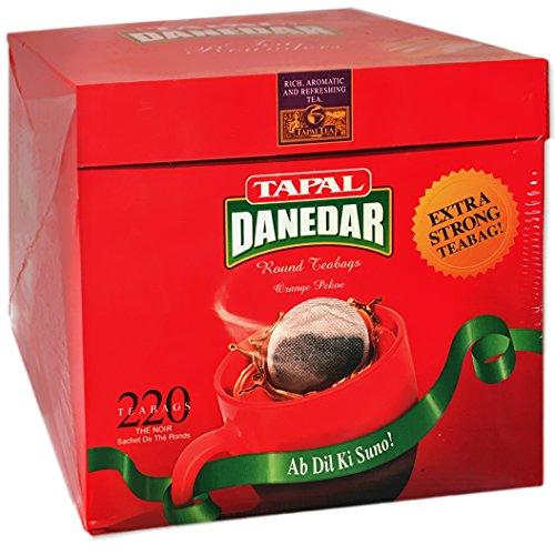 Tapal Danedar 2 Cup Round Tea Bags 220ct,