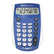 Texas Instruments 503SV/FBL/2L1 Standard Function Calculator