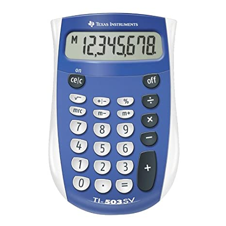 Texas Instruments TI-503 SV 503SV/FBL/2L1 Standard Function Calculator