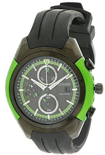 - Citizen Eco-Drive Chronograph Rubber Mens Watch CA0289-00E