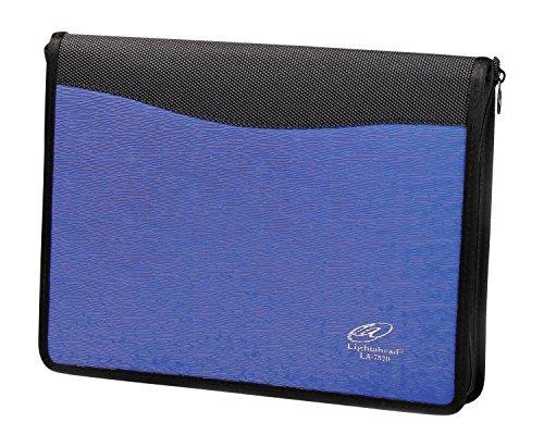 Lightahead LA-7570 Multipurpose Bag Expanding File Folder with 13 pockets zipper Color Blue