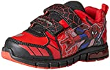 Marvel Ultimate Spiderman Shoes,Red/Black,7 M US Toddler