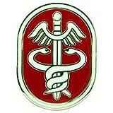 EagleEmblems P15092 Pin-Army,Medic,USA Health (1'')