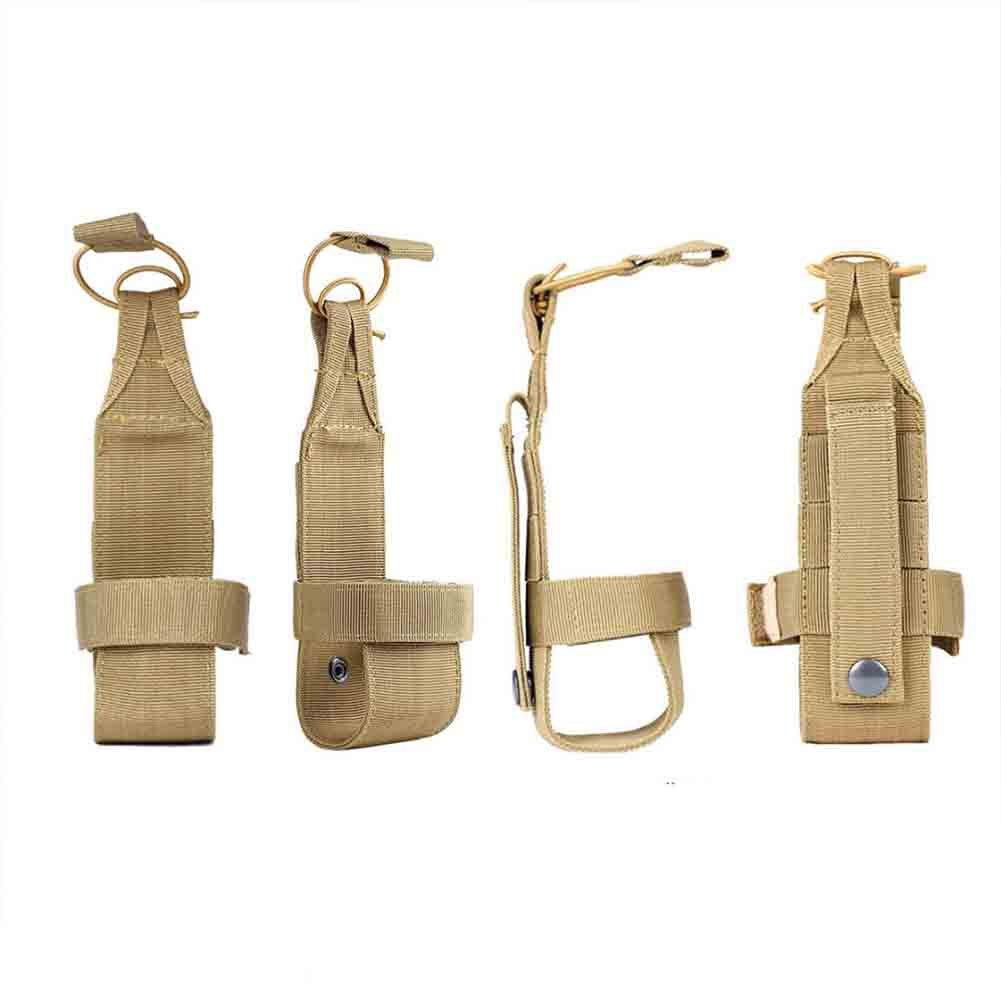 porte-bouilloire sac tactique militaire de randonn/ée porte-ceinture noir Molle Sac pour bouteille deau