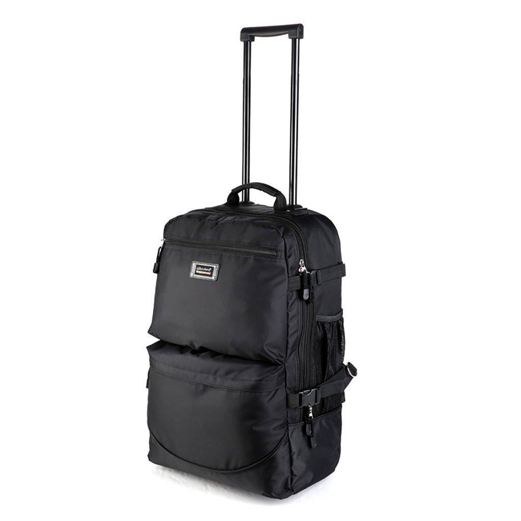 スーツケース トロリーケース2ホイールホイール出張旅行屋外トロリーバッグ大容量ライトトラベルバッグトラベルバッグドラッグバッグハンドバッグトランク旅客ボックスバックパック (色 : A)   B07FMFR4K3