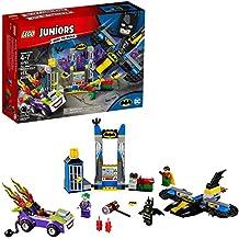 [Patrocinado] LEGO Juniors/4+ DC The Joker ataca la baticueva 10753 Kit de construcción (151 piezas)