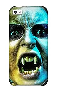 XiFu*MeiFirst-class Case Cover For Iphone 5c Dual Protection Cover VampireXiFu*Mei