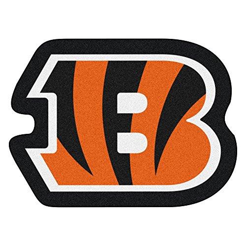 Fanmats 20965 Team Color 3' x 4' NFL - Cincinnati Bengals Mascot Mat