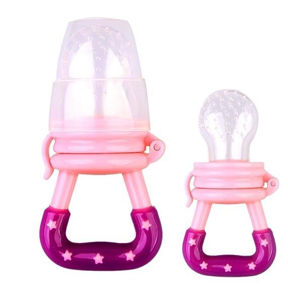 Highplus - Chupete portátil para bebés (Rosa, M): Amazon.es ...