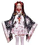 VSVO Anime Cosplay Lolita Halloween Fancy Dress Japanese Kimono Costume (Large)