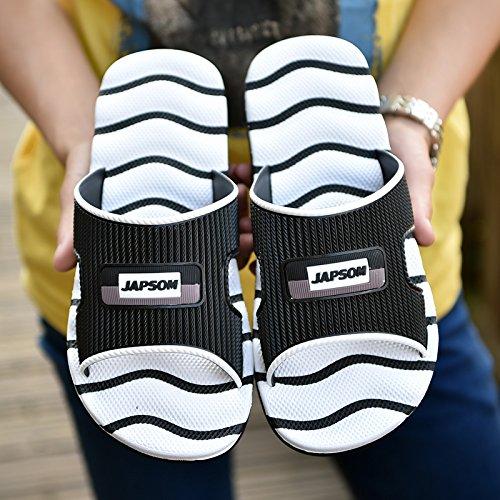 de Blanco Flip Inicio Casual Sandalias Flops y tamaño zapatillas transpirable hombres diaria antideslizante gran zapatillas verano MONAcwe sandalias para sandalias hombres 41 fTqxR7