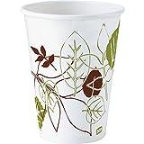 Dixie Pathways WiseSize Cup - 12oz - 500 / Carton - Paper - White