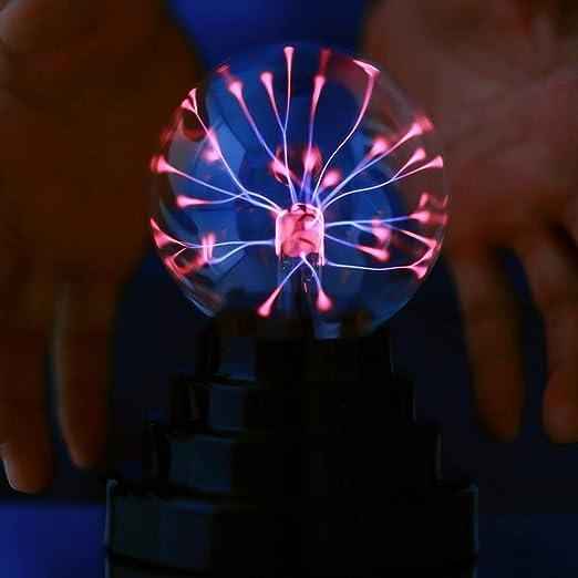 Mágico electroestática bola, portátil Mini de plasma de flash ...