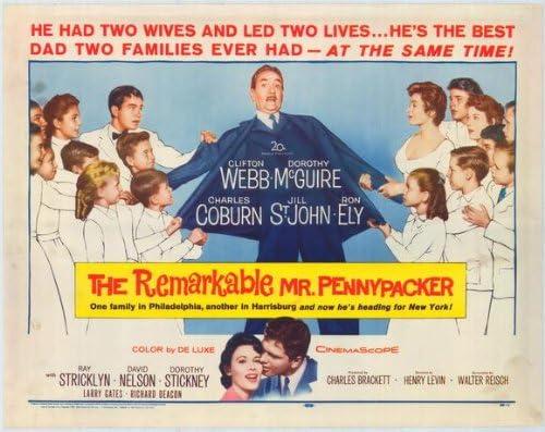 Póster de película la notable Mr, B Pennypacker 11 x 17 en ...