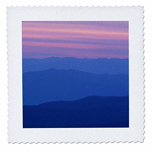 3Drose Danita Delimont   Sunsets   Sunset At Clingmans Dome Great Smoky Mtn National Park  North Carolina   16X16 Inch Quilt Square  Qs 259815 6