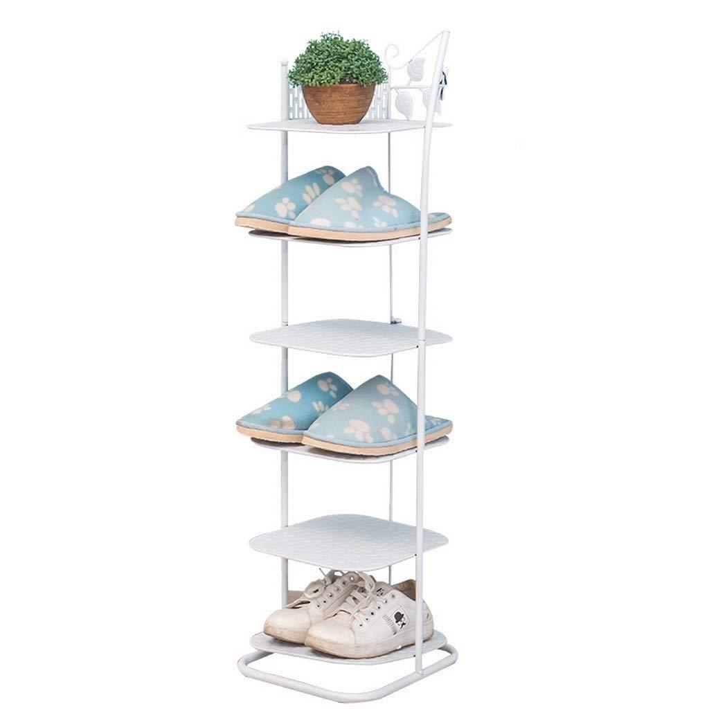 SCDXJ Shoe Rack - Creative Shoe Rack,6 Tier Shoe Storage Shelves Stackable Shoe Tower Easy Assembled Shoe Stand, Simple Economic Home Shoe Rack by SCDXJ