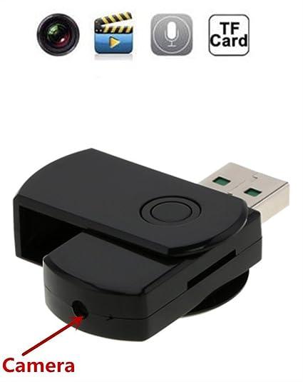 Electro-Weideworld - 1280x960 Mini Camara Espía Oculta Memoria USB Cámara U-Disco Cámara