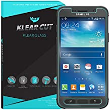 Galaxy S7 Active Screen Protector (AT&T Galaxy S7 Active) Klear Cut KlearGlass Ballistic Tempered Glass Screen Protector for Galaxy S7 Active HD Clear 9H Hardness Anti-Bubble Shield