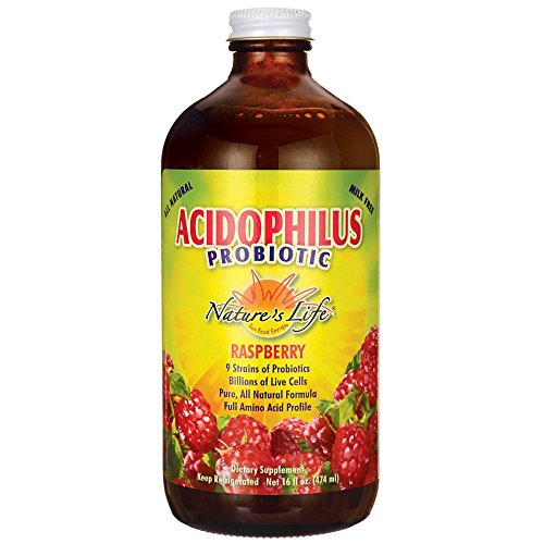 Raspberry Acidophilus Raspberry Nature's Life 16 oz ()