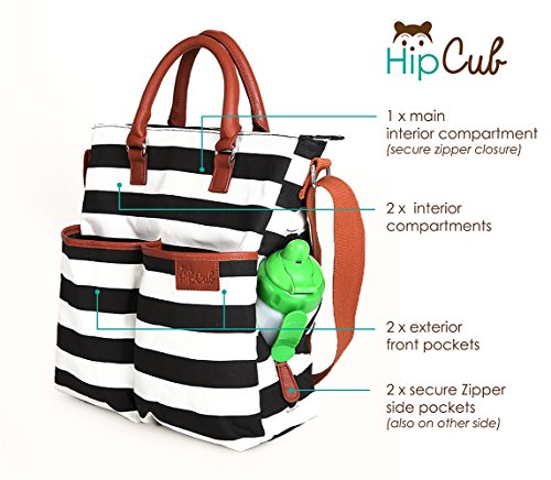 cute designer diaper bags g6v1  Amazoncom : Diaper Bag by Hip Cub
