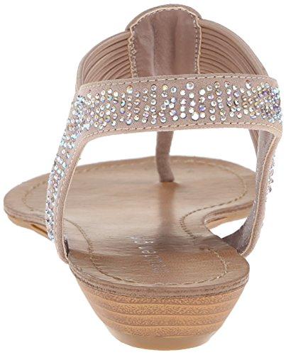 887865299431 - Madden Girl Women's Teager Flip Flop, Blush Fabric, 6 M US carousel main 1