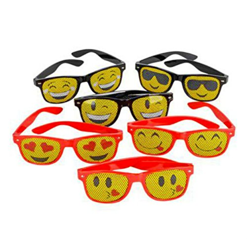 Silly Emoji Party Favor Sunglasses