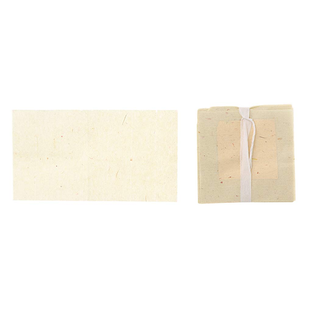 Prettyia 100 Pieces 24 Karat Genuine Transfer Gold Leaf Sheet for DIY Art Crafts
