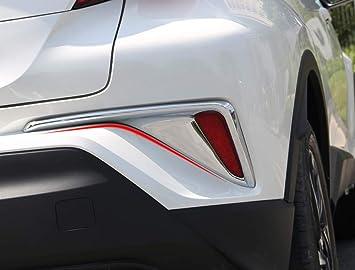 ABS Chrome Front Center Grille Grid U Shape Cover Trim 1pcs