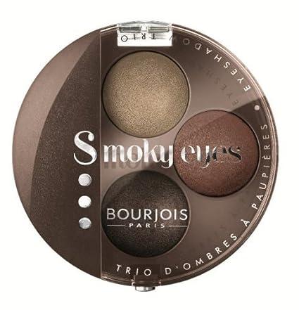 Bourjois Trio de sombras de ojos Smoky Eyes, fórmula ...
