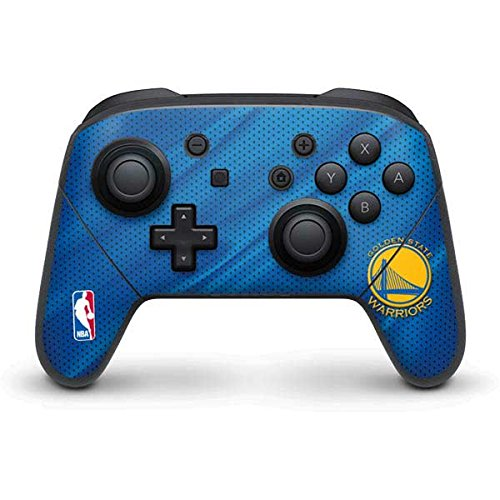 Golden State Warriors Nintendo Switch Pro Controller Skin - Golden State Warriors Jersey | NBA & Skinit Skin by Skinit