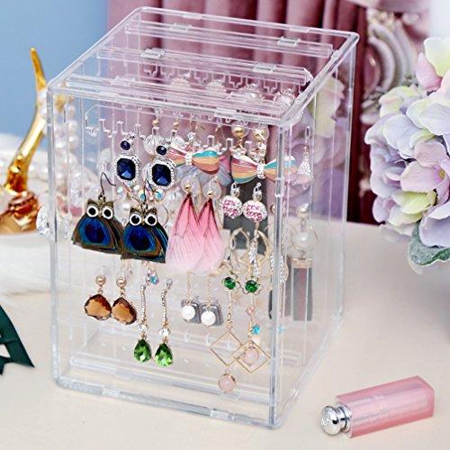 C220 Weiai Acrylic Jewelry Storage Box Earring Display Stand
