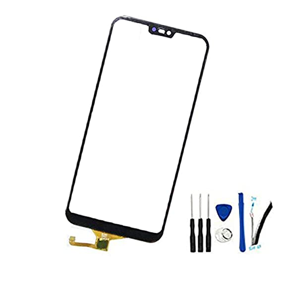 Digitizer Touch Screen Glass Front Sensor Panel Replacement For Huawei P20  lite ANE-L21/Nova 3e (Not Include LCD) black