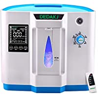 LAB OUTLET Portable Oxygen Concentrator Generator Household Portable Oxygen Machine Home Air Purifier 110V