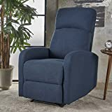 Giovanni Class Fabric Recliner (Navy Blue) Review