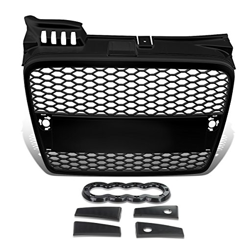 For Audi A4 Quattro ABS Plastic Honeycomb Mesh Style Front Grille (Black) - B7 Typ 8E/8H