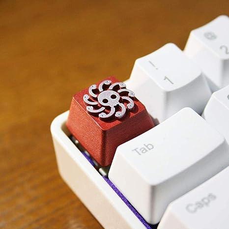 XUHRA Accesorios De Keycaps Resina Corrugadas Mano para ...