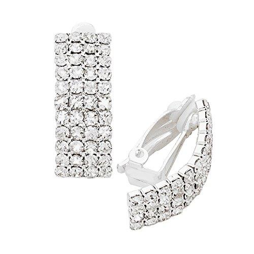 Deco Style Clip Earrings - 4
