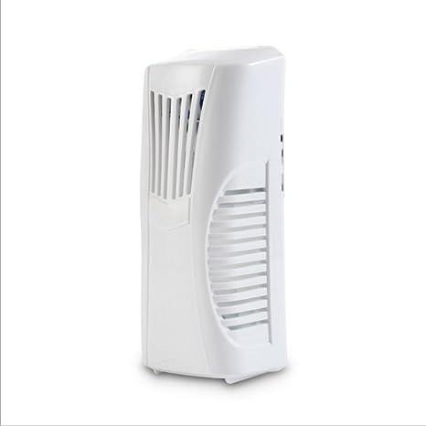 Automático dispensador de fragancia ambientadores de ventilador en aerosol con vacío botella montado en la pared